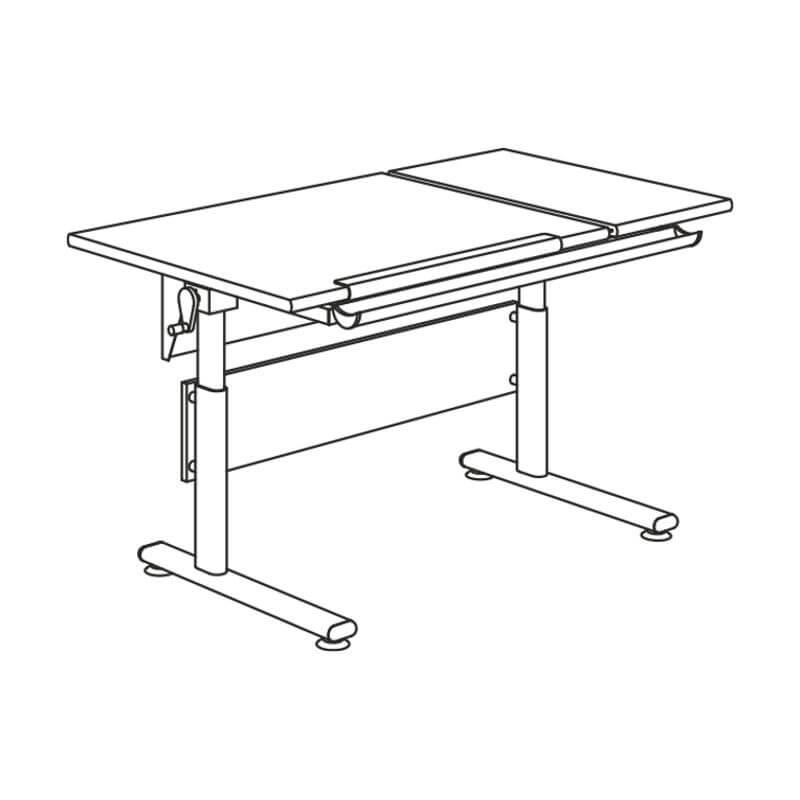 Aufbauanleitungen für PAIDI Schreibtische   Möbel Karmann