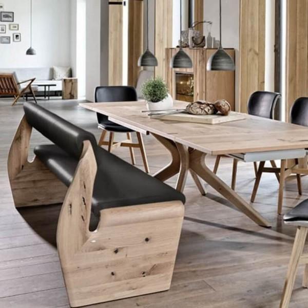 Voglauer Sitzbank gerade V-Alpin 195 cm