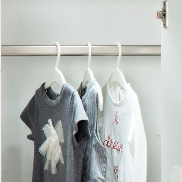 PAIDI Kleiderstange für Schiebetürenschrank Fiona