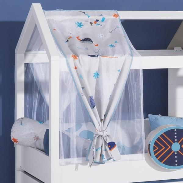 PAIDI Vorhang-Set Wikinger-Traum