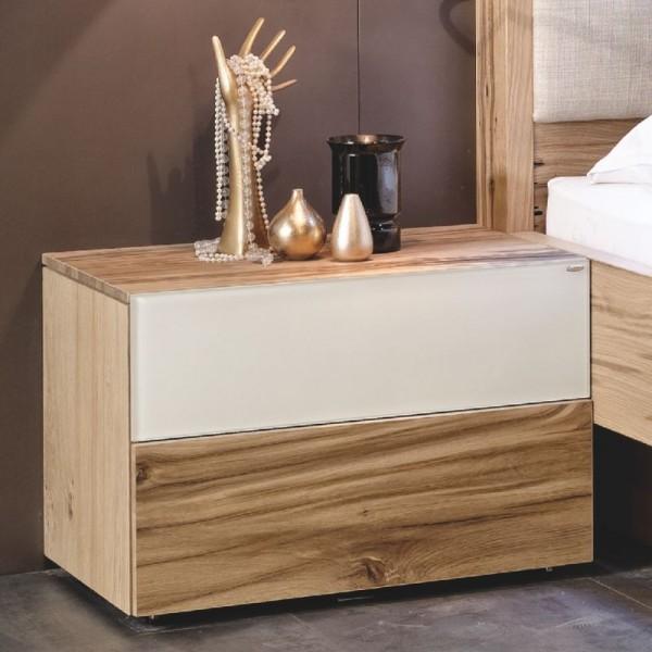 Voglauer Nachttisch V-Pur mit 2 Schubladen
