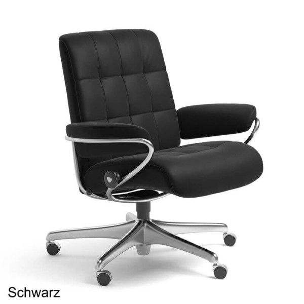Stressless Home Office Sessel London Low Back M