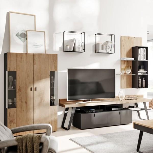 Interliving Wohnzimmer 2105 Wohnwand IN6