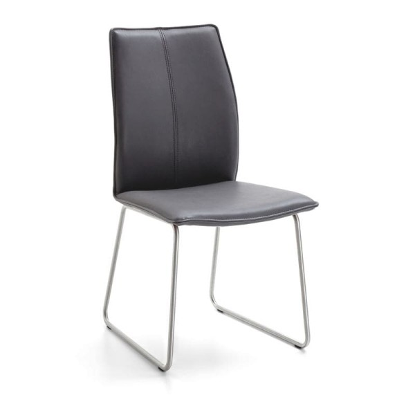 Niehoff Design-Stuhl Capri Edelstahl