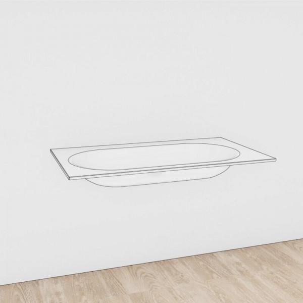 Voglauer Waschtisch V-Alpin Glas