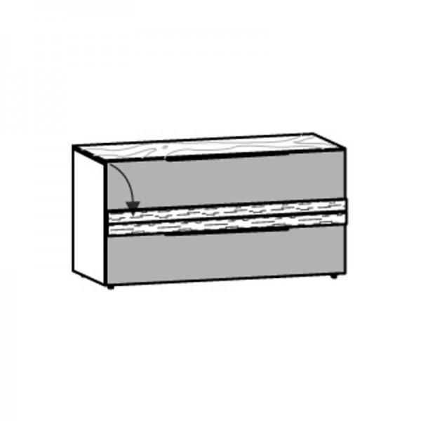 Voglauer Lowboard 128/66 V-Alpin mit Relief