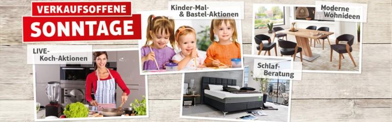 Verkaufsoffene Sonntage Möbel Karmann