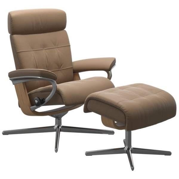 Stressless Sessel Erik Cross in Leder Batick