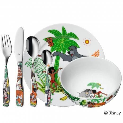 WMF Kinderbesteck 6-teilig Dschungelbuch