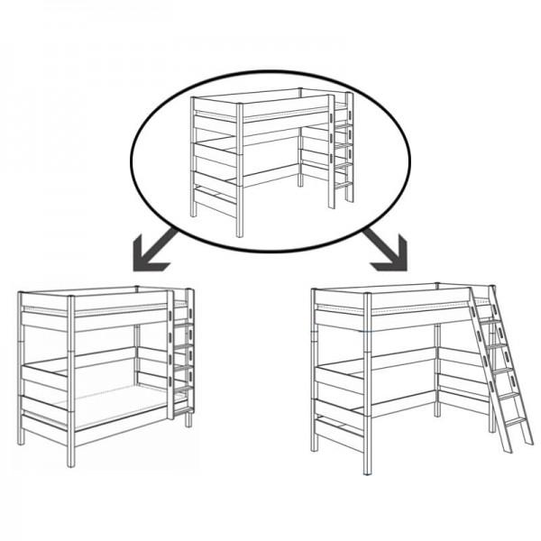 PAIDI Umbau-Set für Spielbett Biancomo 155