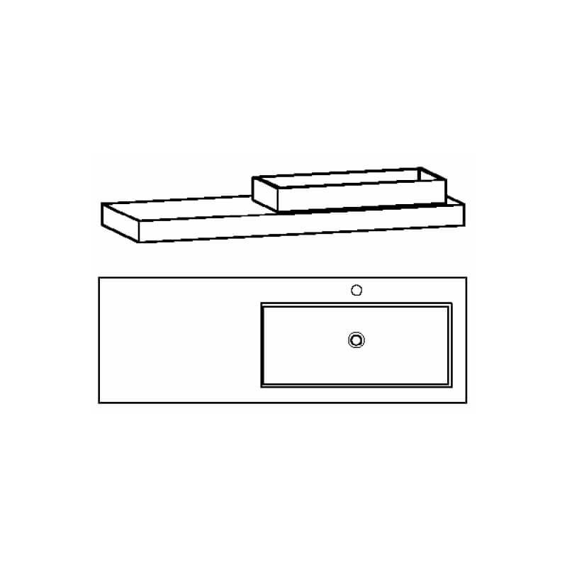 Voglauer-V-Alpin-waschtisch-freitragend-asym-160-rechts