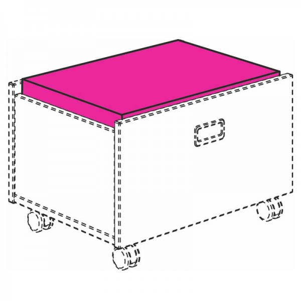 PAIDI Sitzpolster für Rollbox Mikrofaser