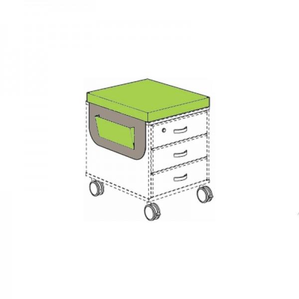 PAIDI Satteltasche für Marco 2 Rollcontainer