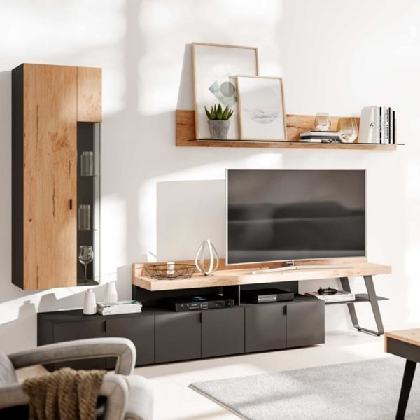 Interliving Wohnzimmer 2105 Wohnwand IN12