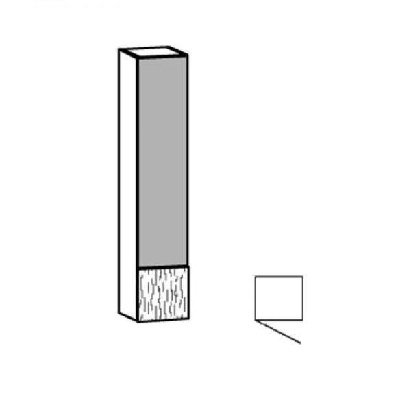 Voglauer Hängeelement 32/160 V-Alpin mit Glas-Relief