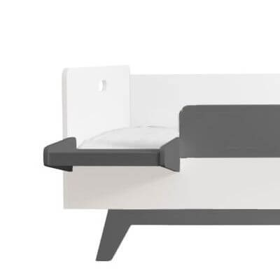 Mimm Nachttisch Für Bett 90x200 Cm Dunkelgrau