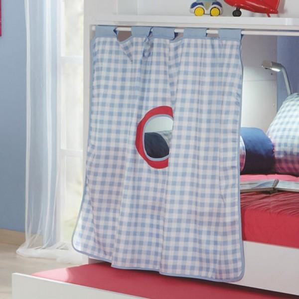 PAIDI Einzelvorhang Motiv für Spielbett-Querseite