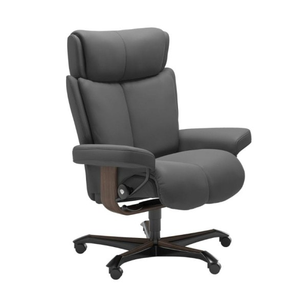 Stressless Sessel Magic Home Office in Leder Batick