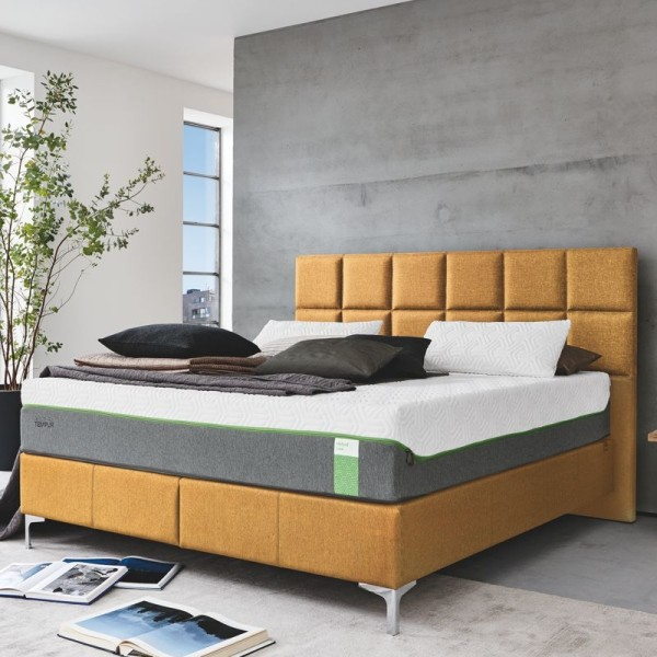 Tempur Boxspringbett Foundation Flat