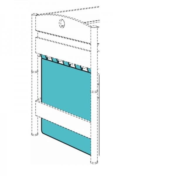 PAIDI Einzelvorhang für Spielbett-Querseite